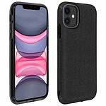 Avizar Coque Noir Design pailleté pour Apple iPhone 11