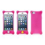 BONE  Coque en silicone BUBBLE iPhone 5  Rose