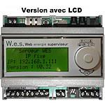 Cartelectronic Serveur De Suivi D'énergie Web Energie Superviseur V2 Avec écran Lcd Inclus PACK_WES_LCD