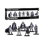Batman Black & White - Pack 7 figurines Set 1 10 cm