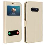 Avizar Etui folio Dorée pour Samsung Galaxy S10e
