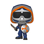 Black Widow - Figurine POP! Taskmaster w/ Shield 9 cm