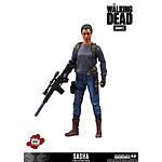 The Walking Dead - Figurine Sasha 13 cm