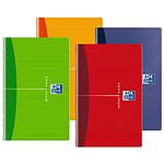 Oxford carnet piqué 90 x 140 mm 96 pages quadrillé 90g coloris aléatoire