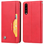 Avizar Etui folio Rouge pour Huawei P20 Pro