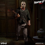 Vendredi 13 Meurtres en 3 dimensions - Figurine 1/12 Jason Voorhees 16 cm