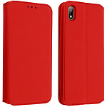 Avizar Etui folio Rouge pour Huawei Y5 2019 , Honor 8S