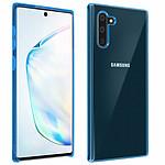 Avizar Coque Bleu Semi-rigide pour Samsung Galaxy Note 10
