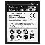 Avizar Batterie Noir pour Samsung Galaxy Core, Samsung Galaxy Core Duos , Samsung Galaxy Core Plus