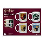 Harry Potter - Pack 4 tasses Espresso House Pride