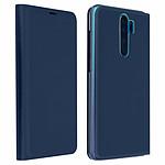 Avizar Etui folio Bleu Nuit pour Xiaomi Redmi Note 8 Pro