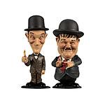 Laurel & Hardy - Pack 2 Figurine Bobble Head Mini Suits 8 cm