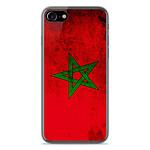 1001 Coques Coque silicone gel Apple IPhone 8 Plus motif Drapeau Maroc