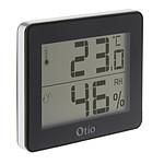 Thermomètre / Hygromètre Noir - Otio