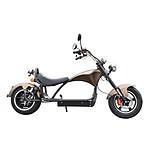 MoovWay Scooter électrique COCO XXXL Marron