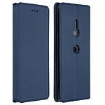 Avizar Etui folio Bleu pour Sony Xperia XZ3