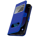Avizar Etui folio Bleu Nuit pour Samsung Galaxy J3 2017