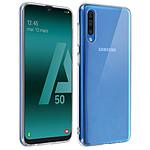 Avizar Coque Transparent Souple pour Samsung Galaxy A50