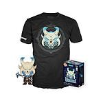 Fortnite - Set Figurine POP! & T-Shirt Ragnarok - Taille L