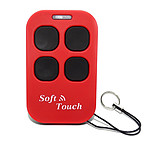 Creasol Télécommande Multi Soft Touch Rouge CRE_MULTIST_ROUGE