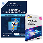 Pack Acronis True Image Advanced 250 Go + Bitdefender Total Security - Licence 1 an - A télécharger