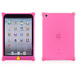 BONE  Coque en silicone BUBBLE iPad mini  Rose