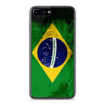 1001 Coques Coque silicone gel Apple IPhone 8 Plus motif Drapeau Brésil