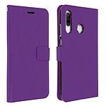 Avizar Etui folio Violet pour Huawei P30 Lite , Honor 20S , Huawei P30 Lite XL