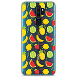 1001 Coques Coque silicone gel Oppo A5 2020 motif Fruits tropicaux