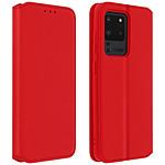 Avizar Etui folio Rouge pour Samsung Galaxy S20 Ultra
