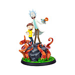 Rick et Morty - Statuette Rick & Morty 30 cm