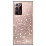 1001 Coques Coque silicone gel Samsung Galaxy Note 20 Ultra motif Lignes étoilées