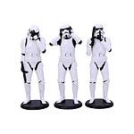 Original Stormtrooper - Pack 3 figurines Three Wise Stormtroopers 14 cm