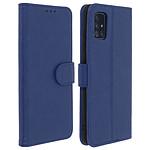 Avizar Etui folio Bleu Nuit pour Samsung Galaxy A51
