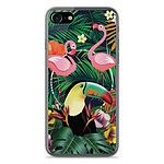 1001 Coques Coque silicone gel Apple IPhone 7 motif Tropical Toucan