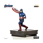 Marvel Avengers : Endgame - Statuette BDS Art Scale 1/10 Captain America 21 cm