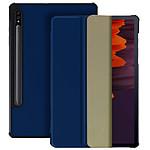 Avizar Etui folio Bleu Nuit pour Samsung Galaxy Tab S7 11.0