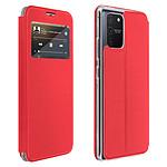 Avizar Etui folio Rouge pour Samsung Galaxy S10 Lite