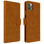 Avizar Etui folio Marron pour Apple iPhone 11 Pro Max