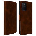 Avizar Etui folio Marron pour Samsung Galaxy S10 Lite