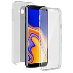 Avizar Coque Transparent pour Samsung Galaxy J4 Plus