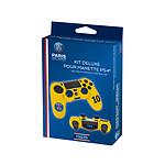 PSG Paris Saint Germain Kit de customisation Deluxe N 10 Jaunepour manette PS4