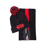 Star Wars - Set bonnet & écharpe Darth Vader
