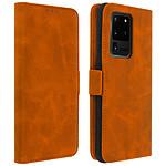 Avizar Etui folio Camel pour Samsung Galaxy S20 Ultra