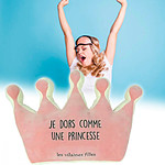 Coussin couronne princesse
