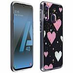 Avizar Coque Rose pour Samsung Galaxy A40