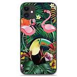 1001 Coques Coque silicone gel Apple iPhone 11 motif Tropical Toucan