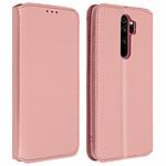 Avizar Etui folio Rose Champagne pour Xiaomi Redmi Note 8 Pro