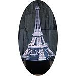 Yonis Lampe décorative 3D Noir Y-10893