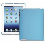 PURO  Coque BACK COVER New iPad/iPad2 Bleu clair